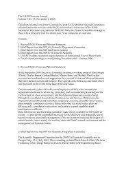 The IUGG Electronic Journal Volume 5 No. 11 (November 1 ... - FMI