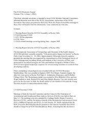 The IUGG Electronic Journal Volume 5 No. 6 (June 1, 2005 ... - FMI