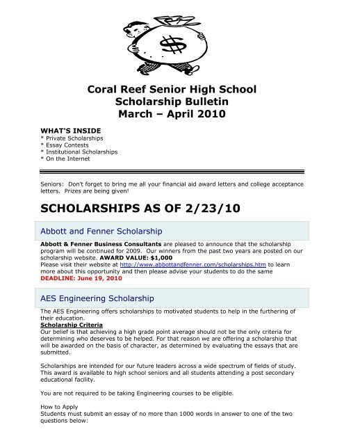 College scholarships essay contest 2010 free business plan for limousine service
