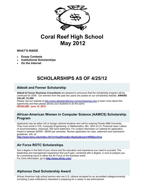 No essay scholarships high school seniors 2012 pay for classic english literature report