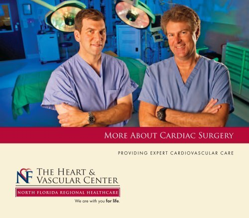 Download our Cardiac Surgery brochure to learn more.
