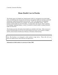 Home Health Care In Florida - North Florida Regional Medical Center