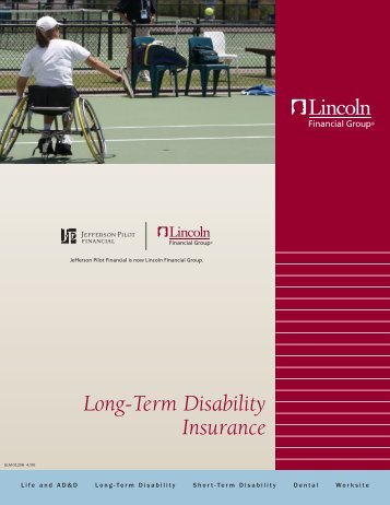 Long-Term Disability Insurance - Lincoln Financial Group