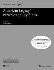 Funds Prospectus - Lincoln Financial Group
