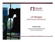 Presentation handout — PDF - Lincoln Financial Group