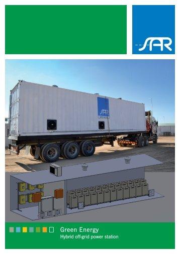 Hybrid off-grid power station - SAR in Dingolfing