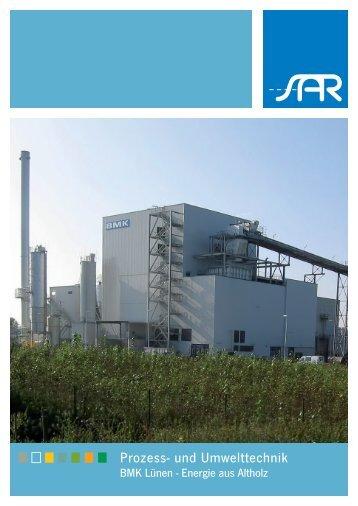 Flyer SAR Prozess- und Umwelttechnik - BMK ... - SAR Elektronic