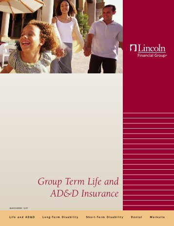 Group Term Life and AD&D Insurance - Lincoln Financial Group