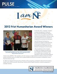 2012 Frist Humanitarian Award Winners - North Florida Regional ...