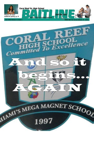 View - Coral Reef Senior High School - Miami-Dade County Public ...