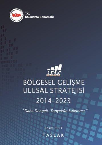 BolgeselGelismeUlusalStratejisi(2014-2023)Taslak