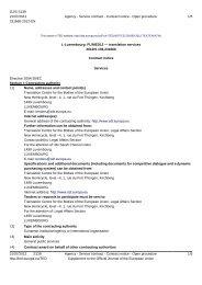 L-Luxembourg: FL/MED12 — translation services