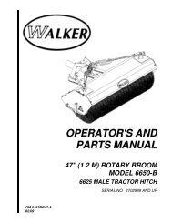 ILLUSTRATED PARTS MANUAL - Walker Mowers