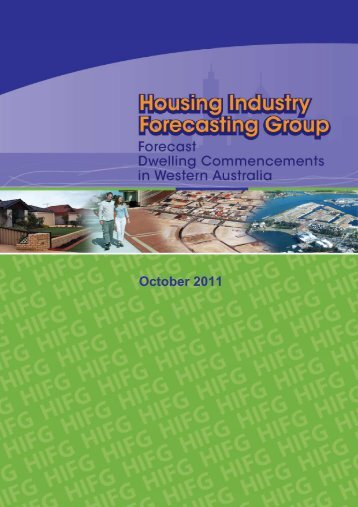 HIFG October Report 2011 - Western Australian Planning Commission