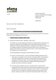 EFAMA comments on VAT Compromise Texts dated 29 March 2011
