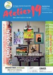 kunstzeitung Q3 2012 - Atelier 19