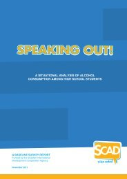 SCAD - speaking out