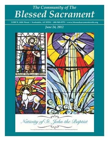 June 24, 2012 - The Catholic Community of the Blessed Sacrament