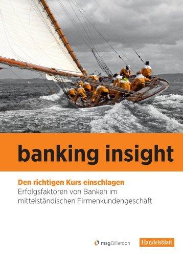 01 | 2011 banking insight
