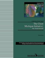 The Clean Michigan Initiative - Mackinac Center
