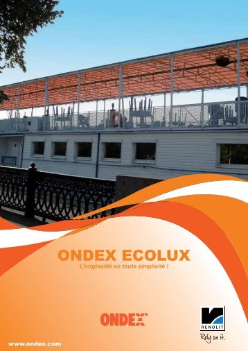 ONDEX ECOLUX - Catalogue - ondex