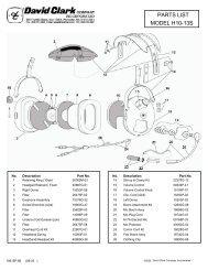 MODEL H10-13S PARTS LIST - Seam-avionic