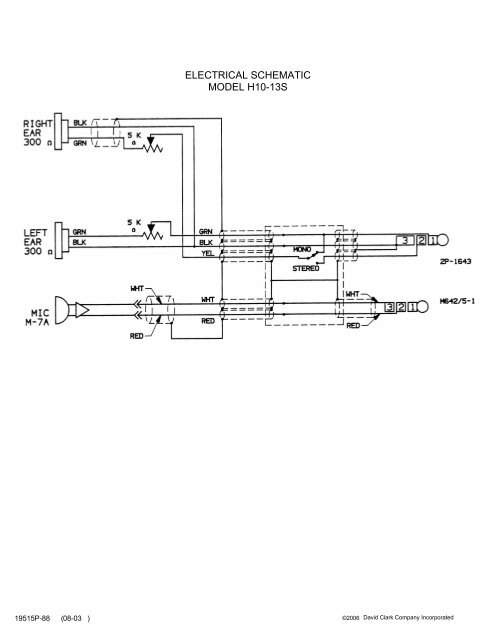 ELECTRICAL SCHEMATIC on