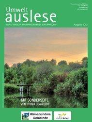 Umwelt auslese 2012 als PDF - Guntramsdorf Bürgerservice