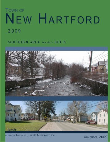 Revised Draft GEIS - Town of New Hartford