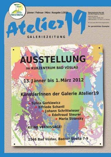 galeriezeitung - Atelier 19