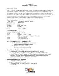 Sample ENGR110x syllabus - College of Engineering at Iowa State ...