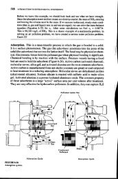 Adsorption. This is a mass-transfer process in which the gas is ...