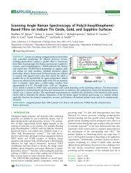 Scanning Angle Raman Spectroscopy of Poly(3-hexylthiophene ...