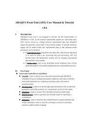 ABAQUS Front End (AFE) User Manual & Tutorial v.0.6