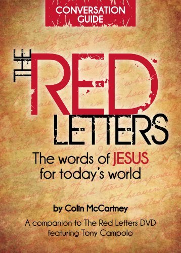 Download the Red Letters Bible Study guide [PDF] - World Vision ...