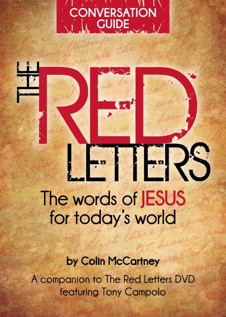 Download the Red Letters Bible Study guide [PDF] - World Vision