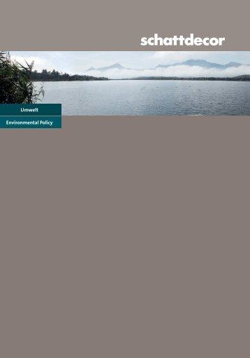 Umwelt Environmental Policy