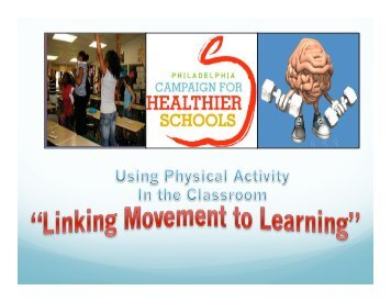 classroom movement breaks - Food Fit Philly