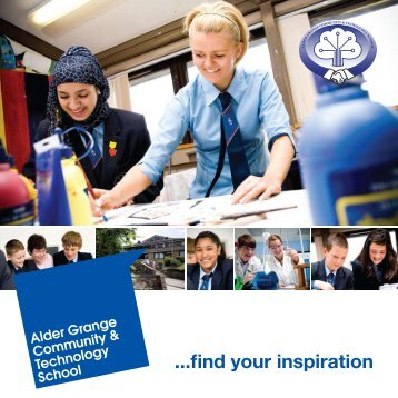 ...find your inspiration - Alder Grange Community & Technology School