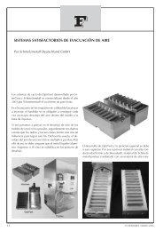 sistemas satisfactorios de evacuación de aire - Metalspain