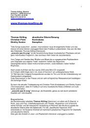 www.thomas-koelling.de Presse-Info