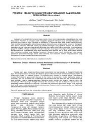 Oryza nivara - Departemen Ilmu Keluarga dan Konsumen | FEMA-IPB