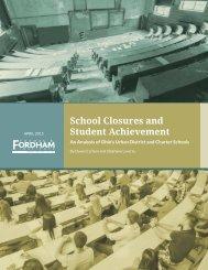 School Closures and Student Achievement Report website final