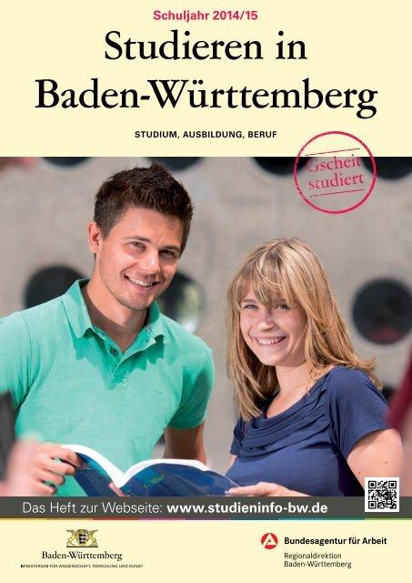 Studieren in Baden-Württemberg 2014/15