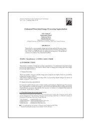Enhanced Watershed Image Processing Segmentation - Institute of ...