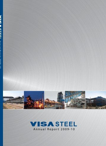 VISA Steel Limited Annual Report 2009-10