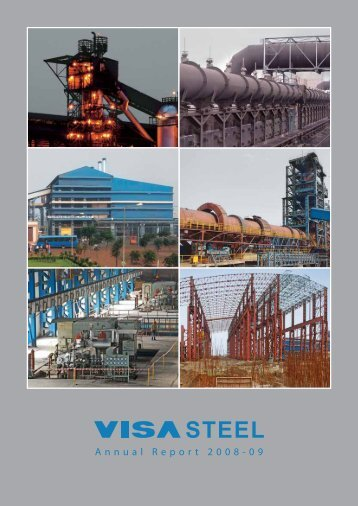 VISA Steel Limited Annual Report 2008-09