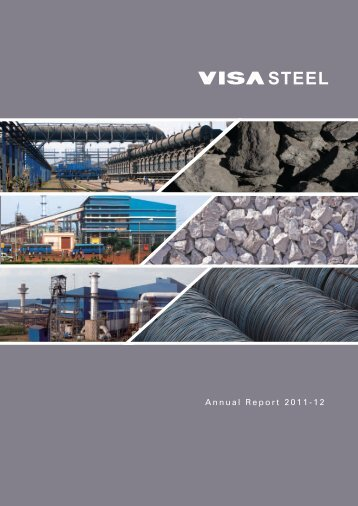 VISA Steel Limited Annual Report 2011-12
