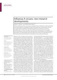 Influenza A viruses: new research developments
