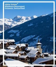 Résidence Beauregard Grimentz, Switzerland - Ski chalets for sale